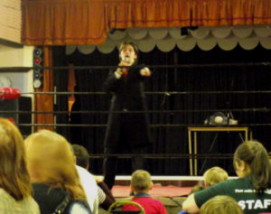 conwy-county-wrestling-jay-gatling-ring-announcer