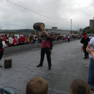 barrel-race-winner-conwy-pirate-weekend