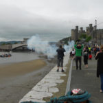 conwy-pirate-weekend-canon-fire-smoke