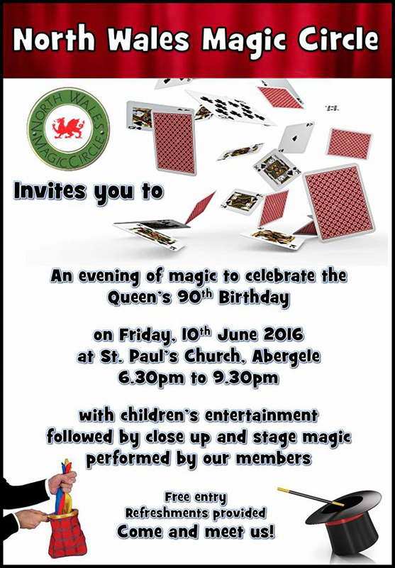 north-wales-magic-circle-queens-birthday