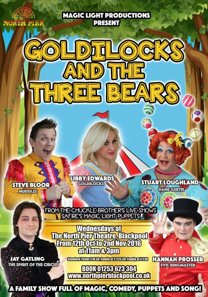 goldilocks-three-bears-blackpool-north-pier