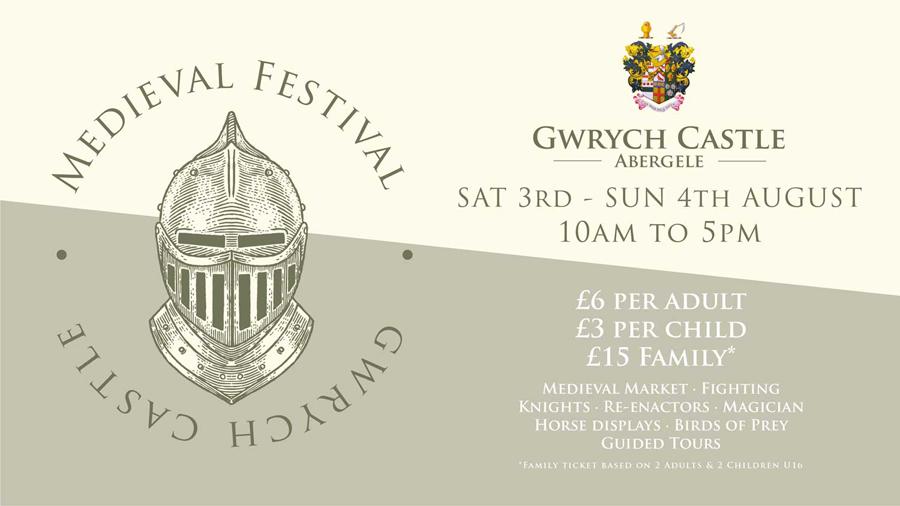 Gwrych Castle Medieval Festival 2019