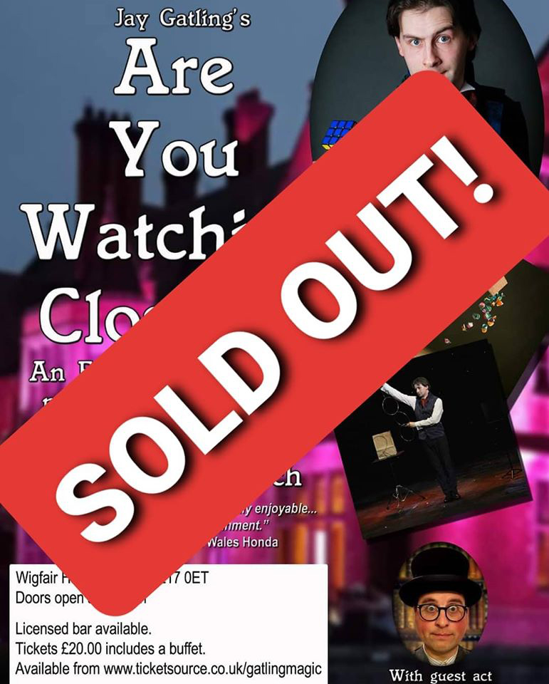 Are You Watching Closely? poster - sold out
