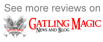 See more reviews on Gatling Magic news and blog
