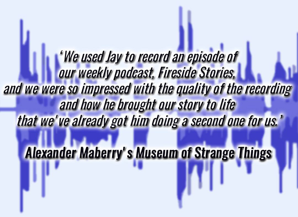 Text of a positive review from Alexander Maberry's Museum of Strange Things