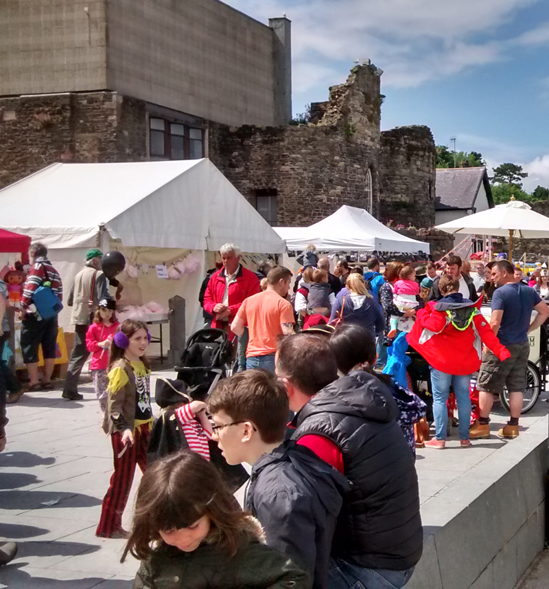 Conwy Pirate Weekend 2015