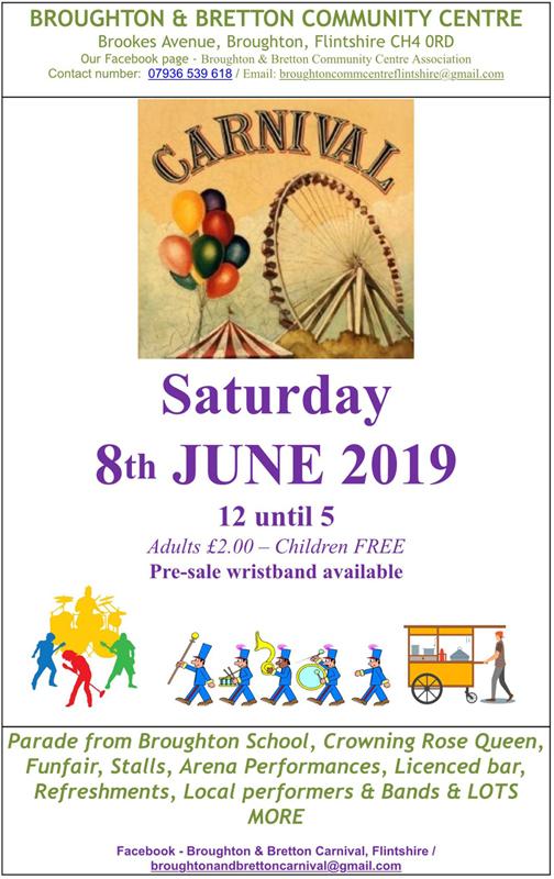 Broughton & Bretton Carnival 2019