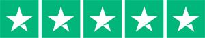 Trustpilot 5 star rating