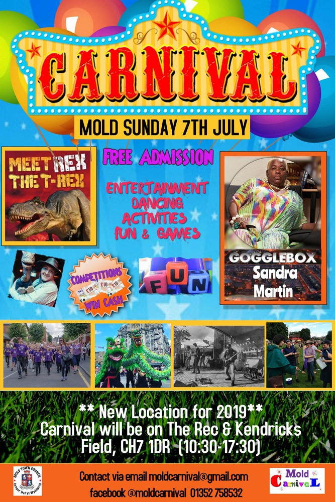 Mold Carnival 2019 poster